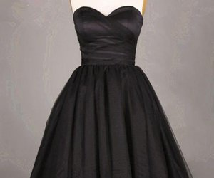 short homecoming dress, black homecoming dresses, and pretty homecoming dress image
