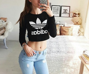 adidas and fashion image