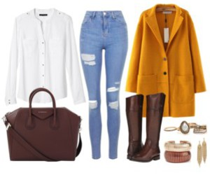 autumn, chic, and clothes image