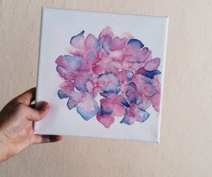 flower, colors, and painting image