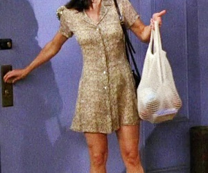 1990s, fashion, and monica geller image