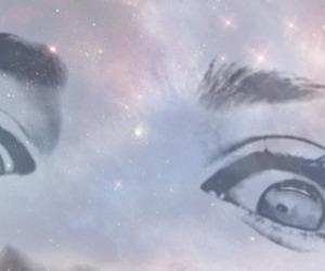 beautiful, galaxy, and eyes image