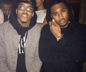 trey songz, august alsina, and boy image