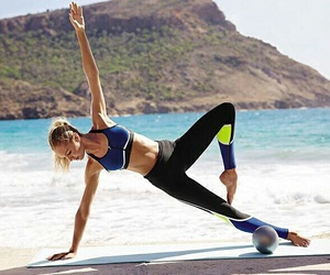 fitness, Victoria's Secret, and candice swanepoel image