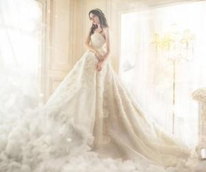 beautiful, bridal, and fantasy image