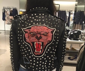 2016, leather, and lion image