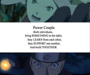 couple, naruto, and narusaku image