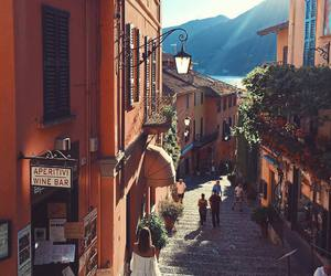 europe, mountain, and street image
