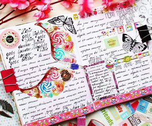 diaries, diary, and journal image
