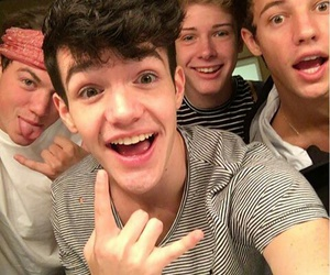 cameron dallas, aaron carpenter, and taylor caniff image
