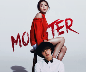 jin, monster, and bts image