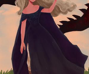 fan art, game of thrones, and daenerys targaryen image