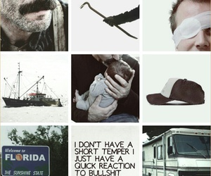 kenny, moodboard, and the walking dead image
