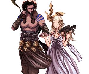 daenerys targaryen, family, and game of thrones image