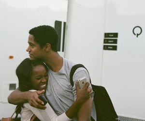 alfred enoch, aja naomi king, and htgawm image