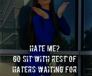 attitude and haters image