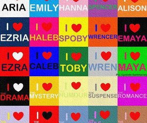 pll, pretty little liars, and ♥ image
