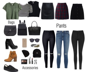 outfits, shoes, and skirts image