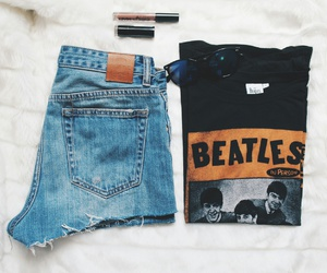 accessories, aesthetics, and beatles image
