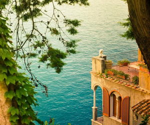 italy, sea, and ocean image