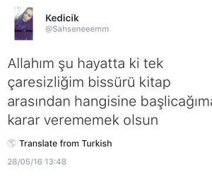 sözler, kitaplar, and türkçe image