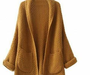 handmade, knitting, and sweaters image