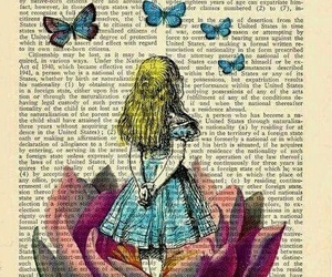 alice, art, and drawing image