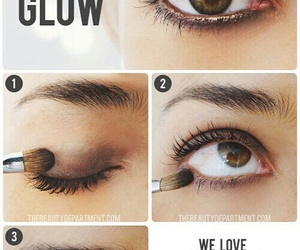 beauty, eye, and lining image
