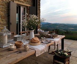 food, view, and home image