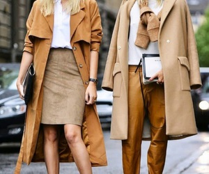 aesthetic, brown, and casual image