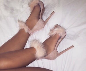 fashion, girl, and highheels image