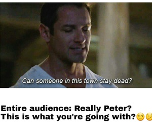 funny, teen wolf, and peter hale image