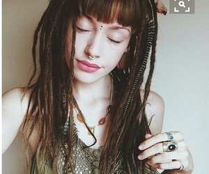 dreads and hippie image