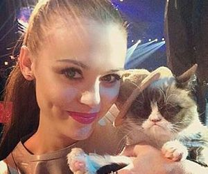 holland roden, teen wolf, and cat image