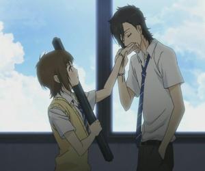 anime, sukitte ii na yo, and say i love you image