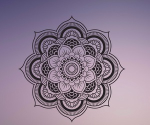 mandala, wallpaper, and blur image