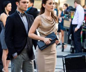 blair waldorf, ed westwick, and gossip girl image