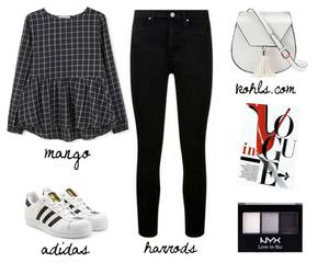 adidas, black, and blouses image