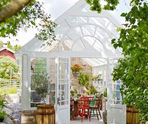 design, garden, and greenhouse image