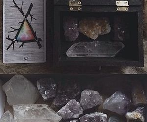 crystal, witch, and pagan image