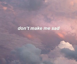 sad, quotes, and sky image