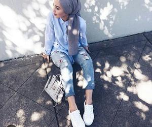 Blanc, Bleu, and stylé image