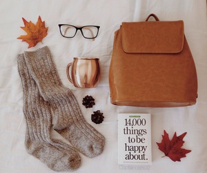 autumn, book, and kit image