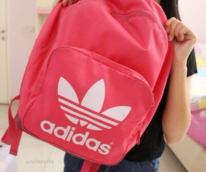 adidas, tumblr, and backpack image