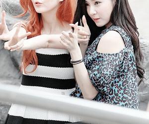 tiffany, seohyun, and snsd image