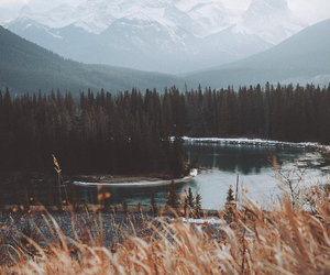 nature, mountains, and photography image