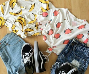 outfit and banana image