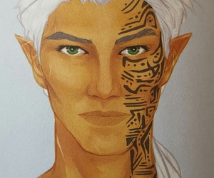 rowan whitethorn and prince of doranelle image