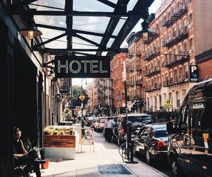 city, hotel, and travel image