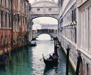 europe, travel, and venice image